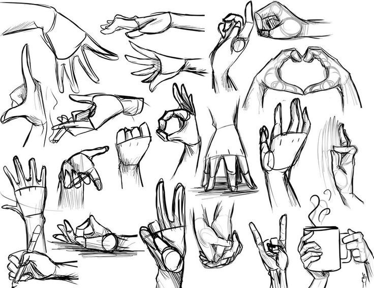 Resultado de imagen para mano izquierda anime sketch  Draw anime