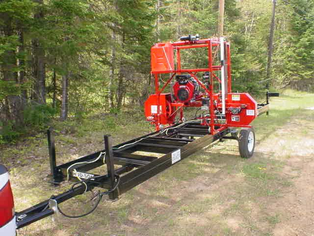 bandsaw mill plans. portable bandsaw sawmill mill plans
