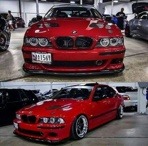 Bmw E38 Supercharger Kit: BMW-E39-M5-FRONT-SPLITTER-M5-BUMPER-SPOILER-HAMANN
