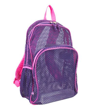 d8188733147e Look what I found on  zulily! Blackberry Mesh Backpack by Fuel by Eastsport   zulilyfinds