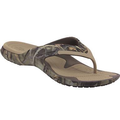 Crocs Modi Sport Camo Flip Flip Flops Mens Chocolate Khaki Camouflage Fashion Boots Clarks Shoes Insole Design