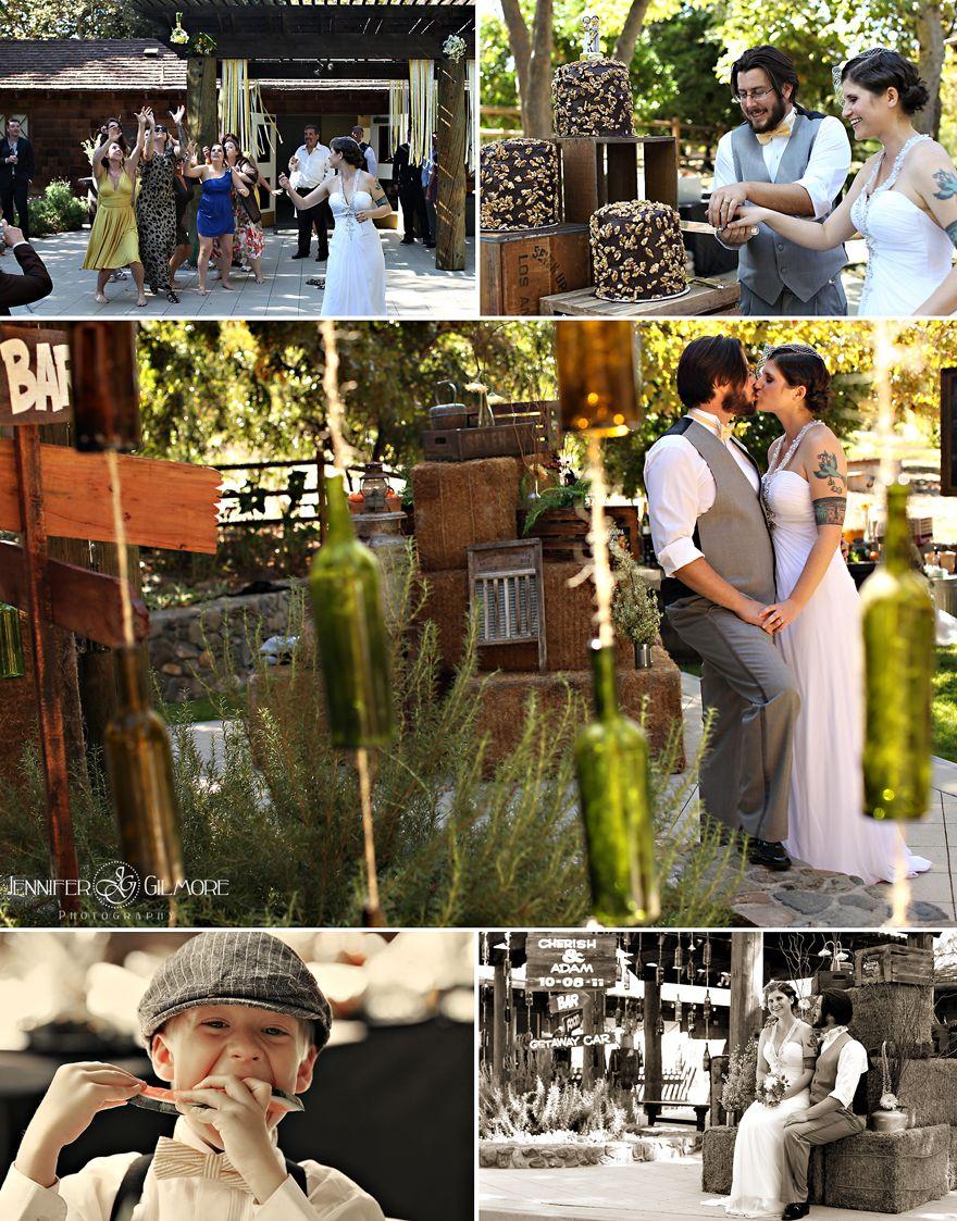 Rustic Wedding Theme Details Reception Oranges Fruit Crate