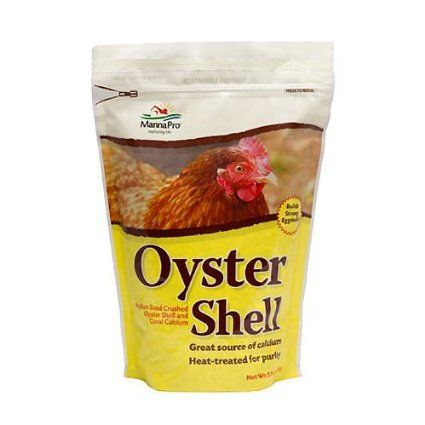 Manna Pro Crushed Oyster Shell for Birds, Pullet Size, 5-Pound: Pet Supplies $14.98