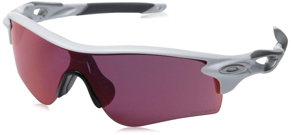 a4735d715a1 eBay  Sponsored Oakley Men s Radarlock Path OO9206-26 Asia Fit Shield  Sunglasses Polished White