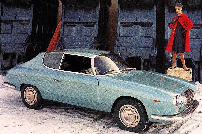 Lancia Flavia Zagato Sport, 1963.