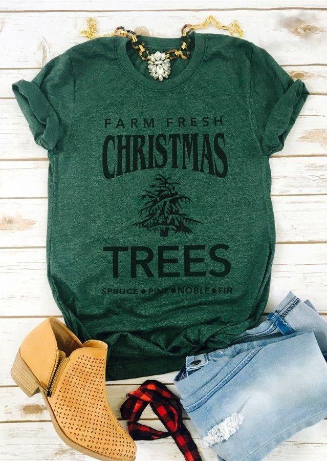 Farm Fresh Christmas Trees TShirt Tshirts Christmas