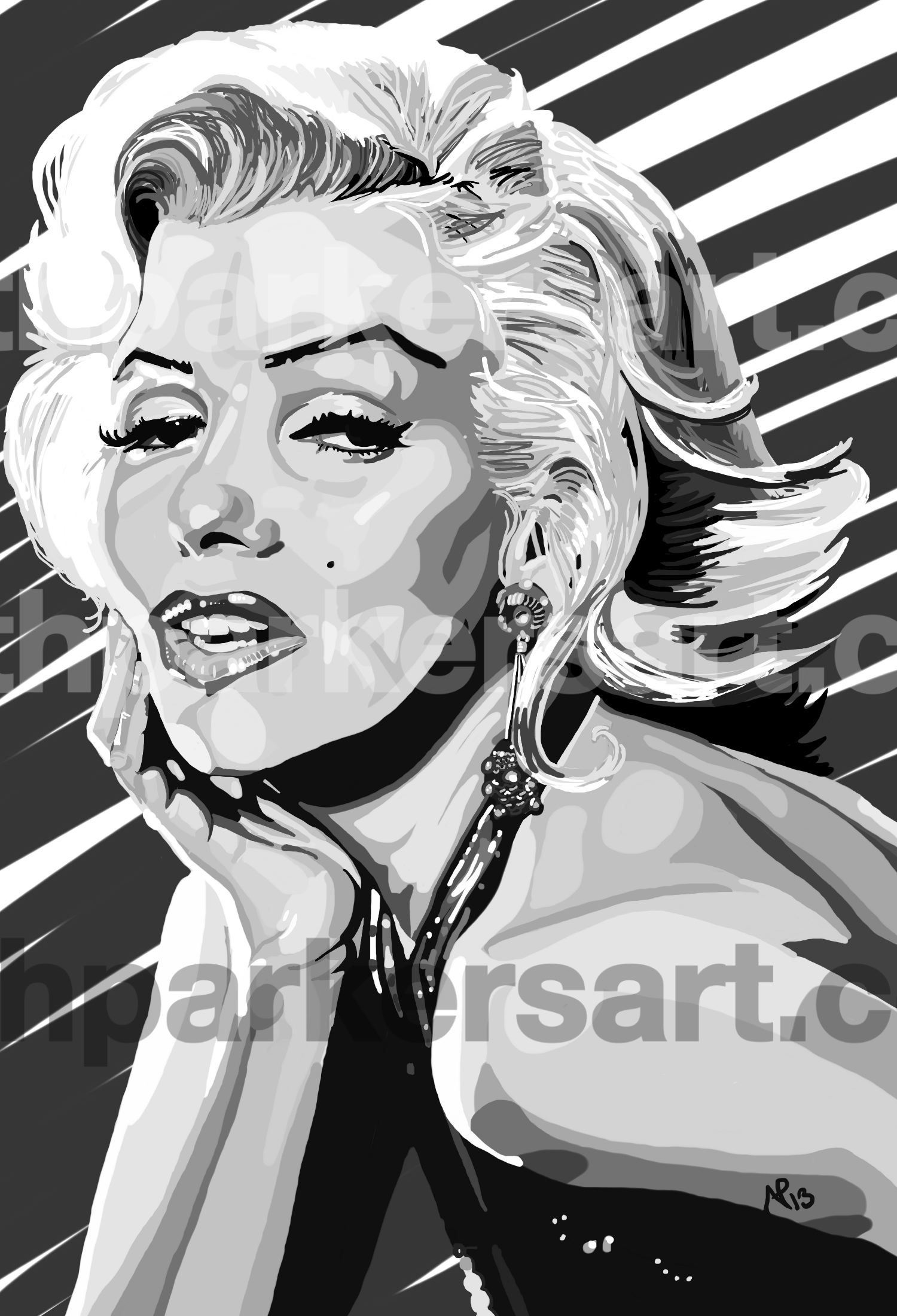Marilyn by Nathan Parker