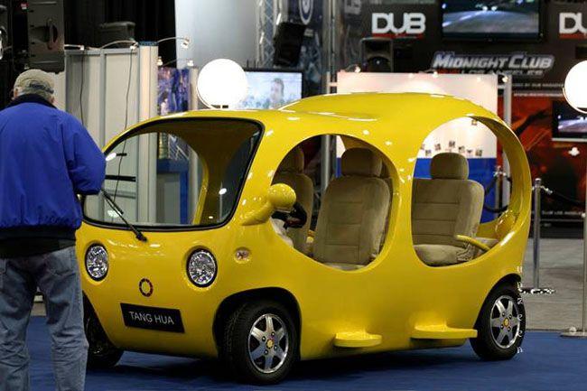 Tang Hua Cloud Electric Car Electric Cars Chinese Car Amphibious Vehicle