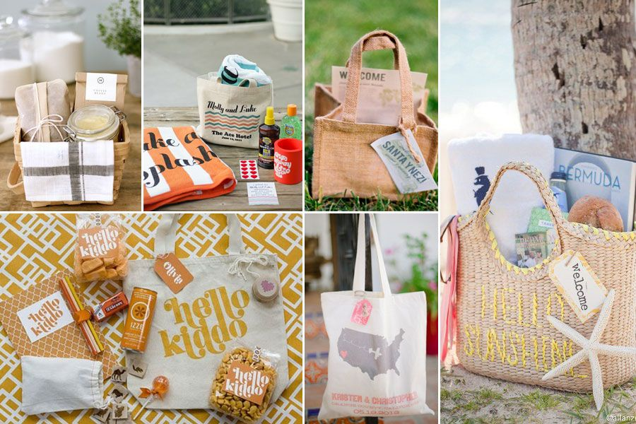 Welcome Gift Baskets For Wedding Guests: Wedding Welcome Bags For Guests