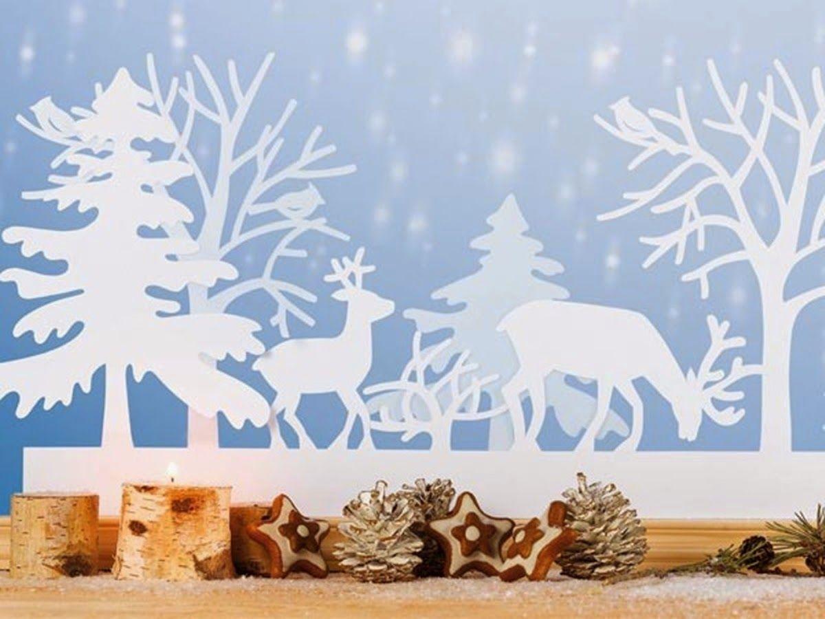 шаблоны к новому году зимний сказочный лес прекрасная главная