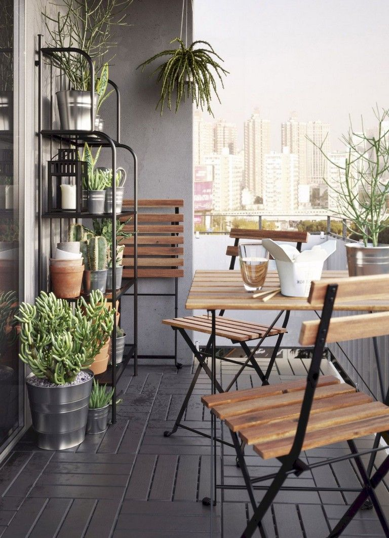 70+ Stunning Small Balcony Decorating Ideas on A Budget images