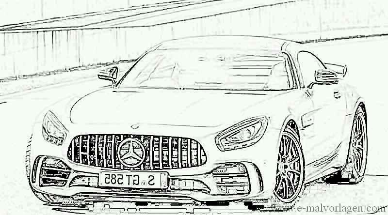 Ausmalbilder Mercedes C63 Amg   Best Trend Design