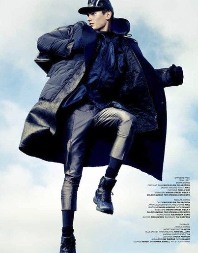 Tom Van Dorpe styles'Anoraks'forVMAN, Fall 2012  You can follow Tom's new styling tips onFacebookandTwitter.