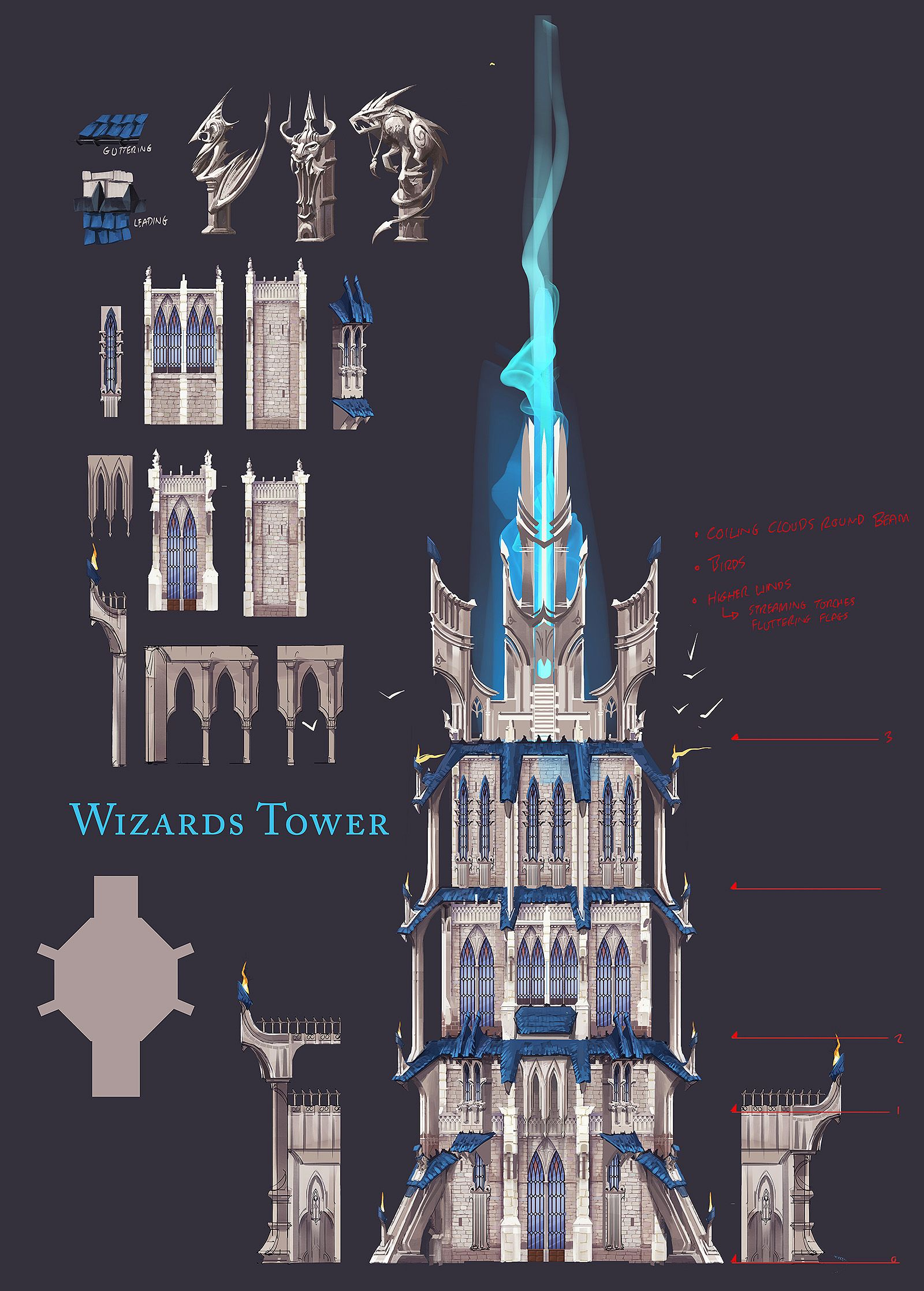 mage tower interior - Поиск в Google