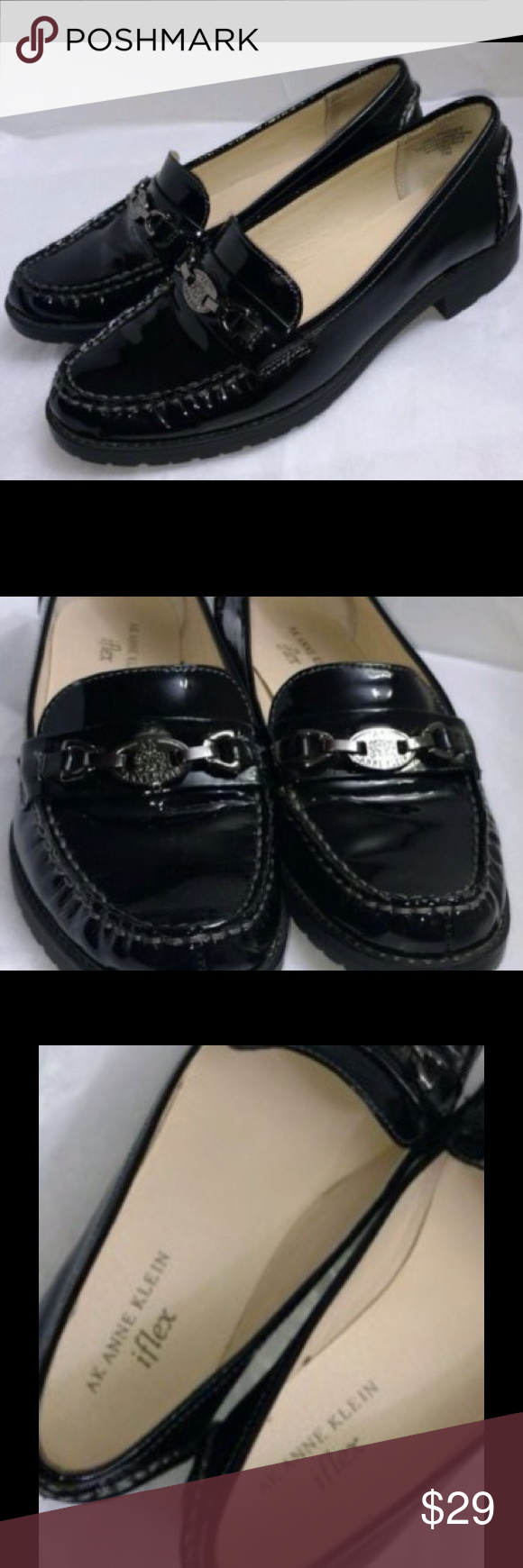 f659aa63c46 Patent Iflex Klein Anne Leather Loafers Loafer New nq71tawx8t
