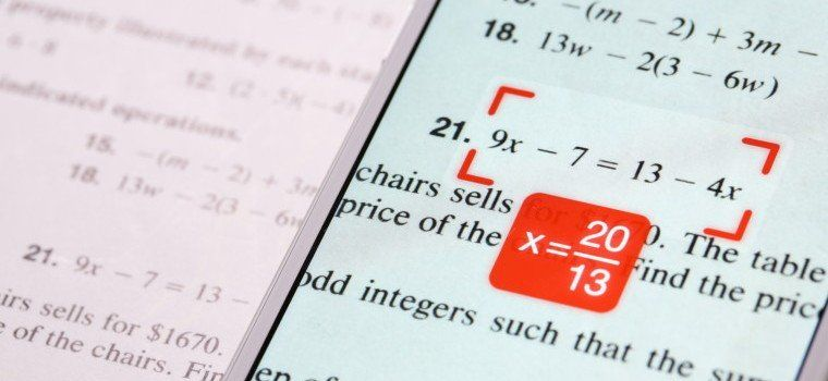 Take A Picture Of Any Maths Equation & This App Will Solve