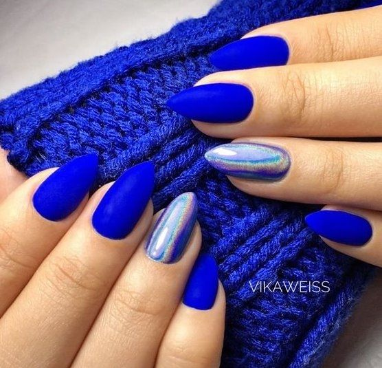 Blue Nail Art Ideas for 2018 , Top 150 Designs , Our Nail