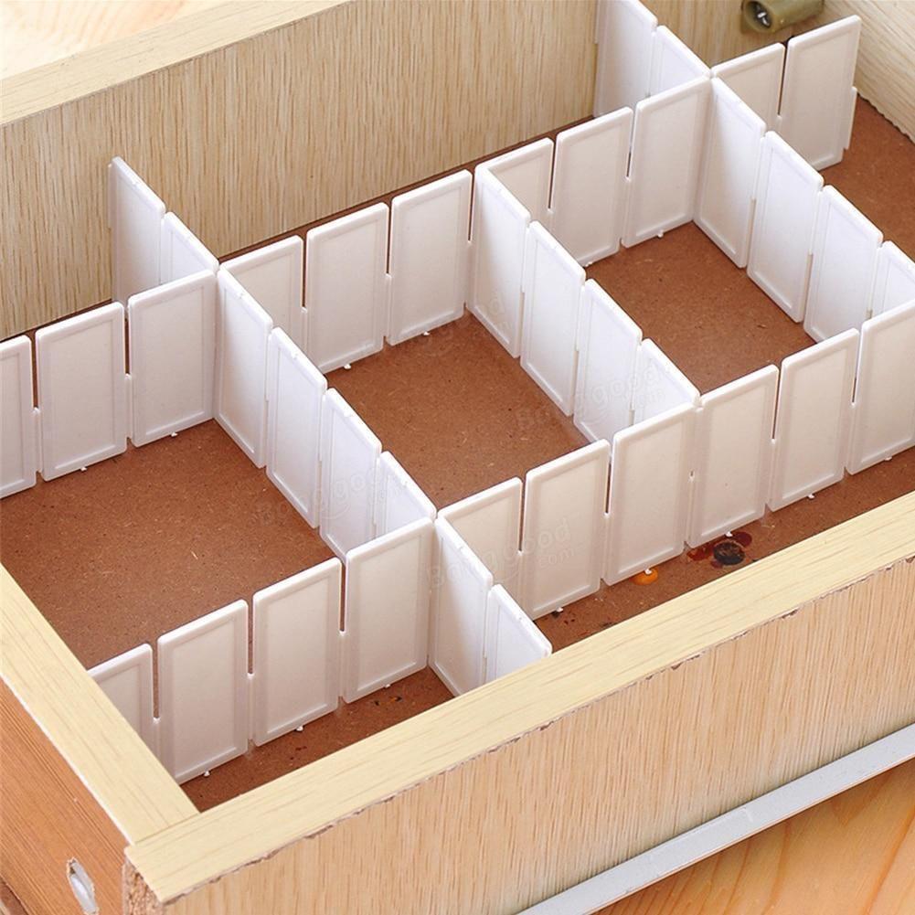 Adjustable Grid Drawer Dividers Pack Diy Storage Organiser Diy Drawers Drawer Divider