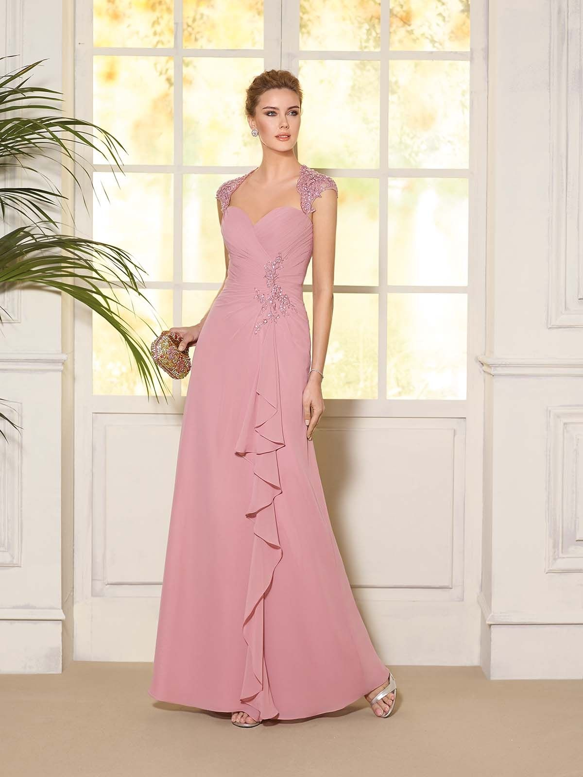 Vestido de Fiesta de Fara Sposa (6007), largo | Cenefas | Pinterest ...