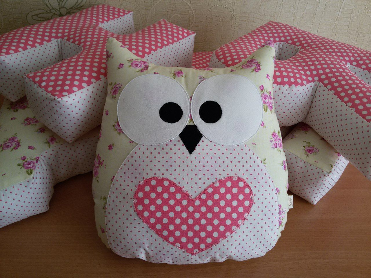 схема красивую подушку своими руками