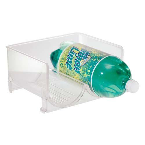 Fridge Binz™ stackable twoliter bottle soda holder helps