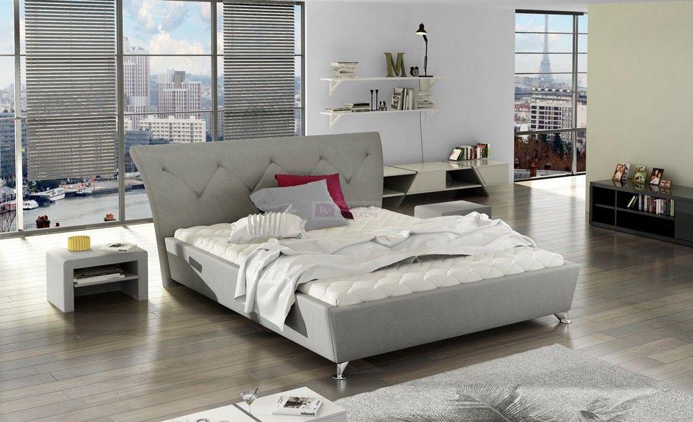 łóżko 81234 Tapicerowane Mk Foam Koło Sypialnie łóżka