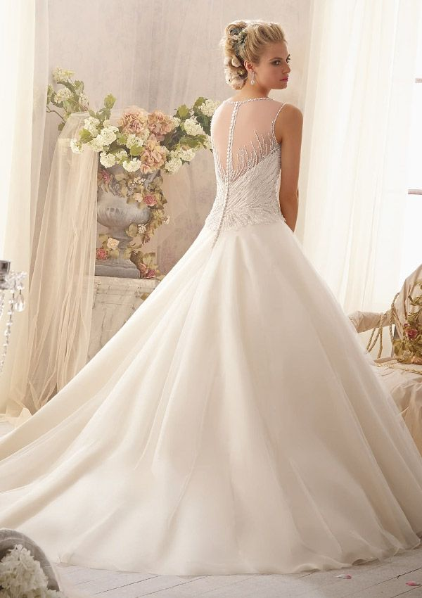 Bridal Gown From Mori Lee By Madeline Gardner Dress Style 2602 ...