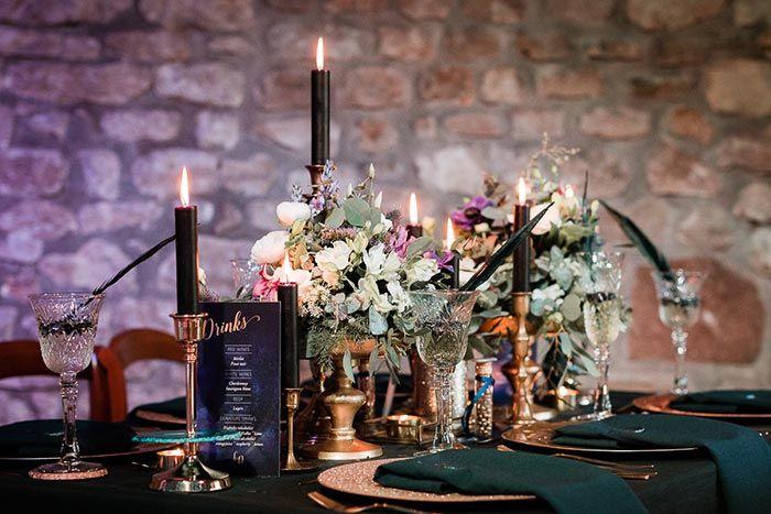 Tischdeko Mit Kerzen In 2019 Tischdekoration Zur Hochzeit Pinterest