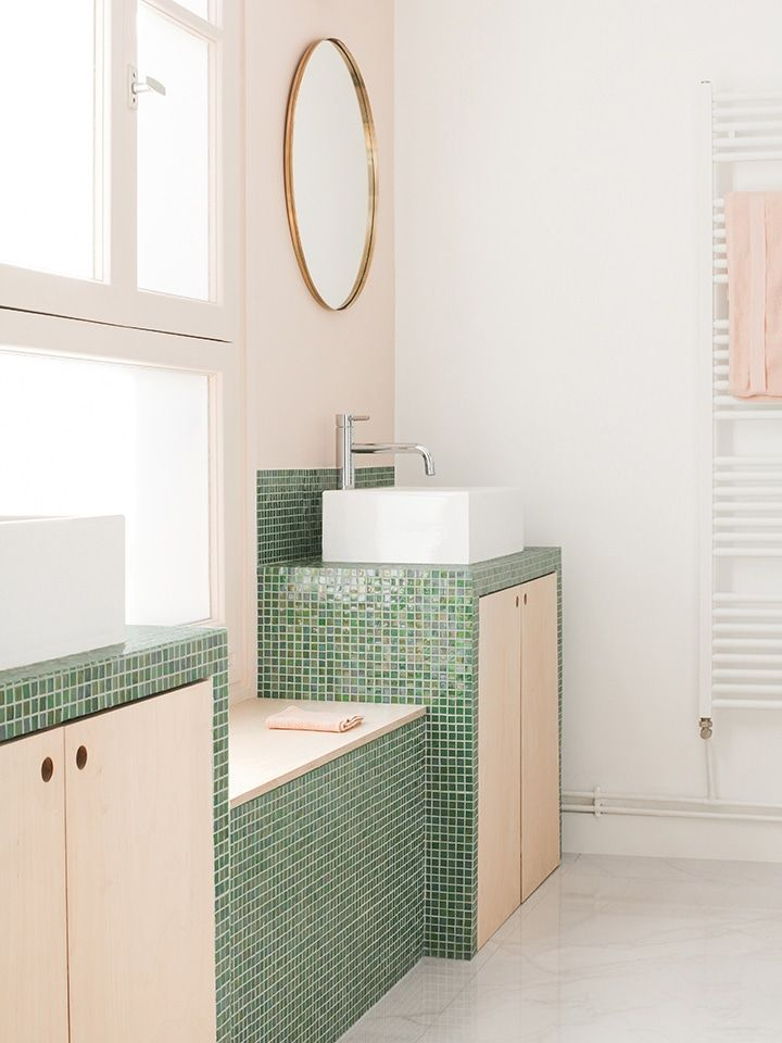 6 Small Bathroom Tiles That Are Anything But Boring in ...