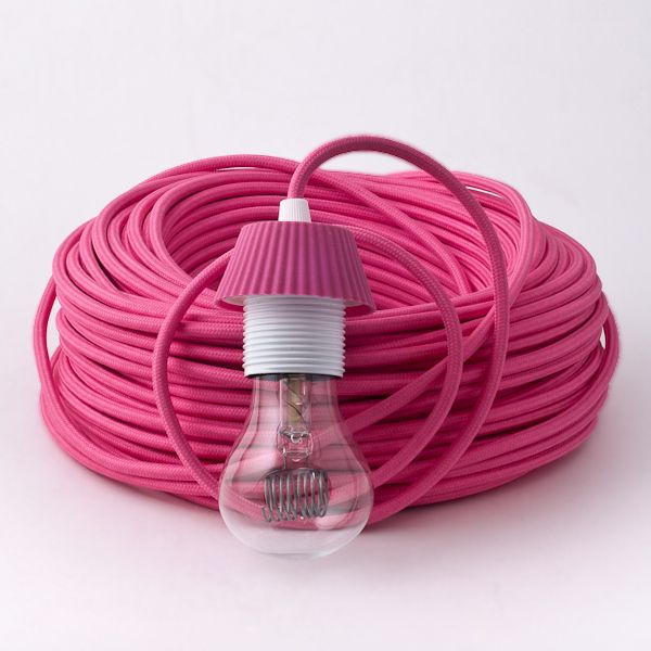Fuchsia Textile Cable pink makes me happy Pinterest Pink, Les