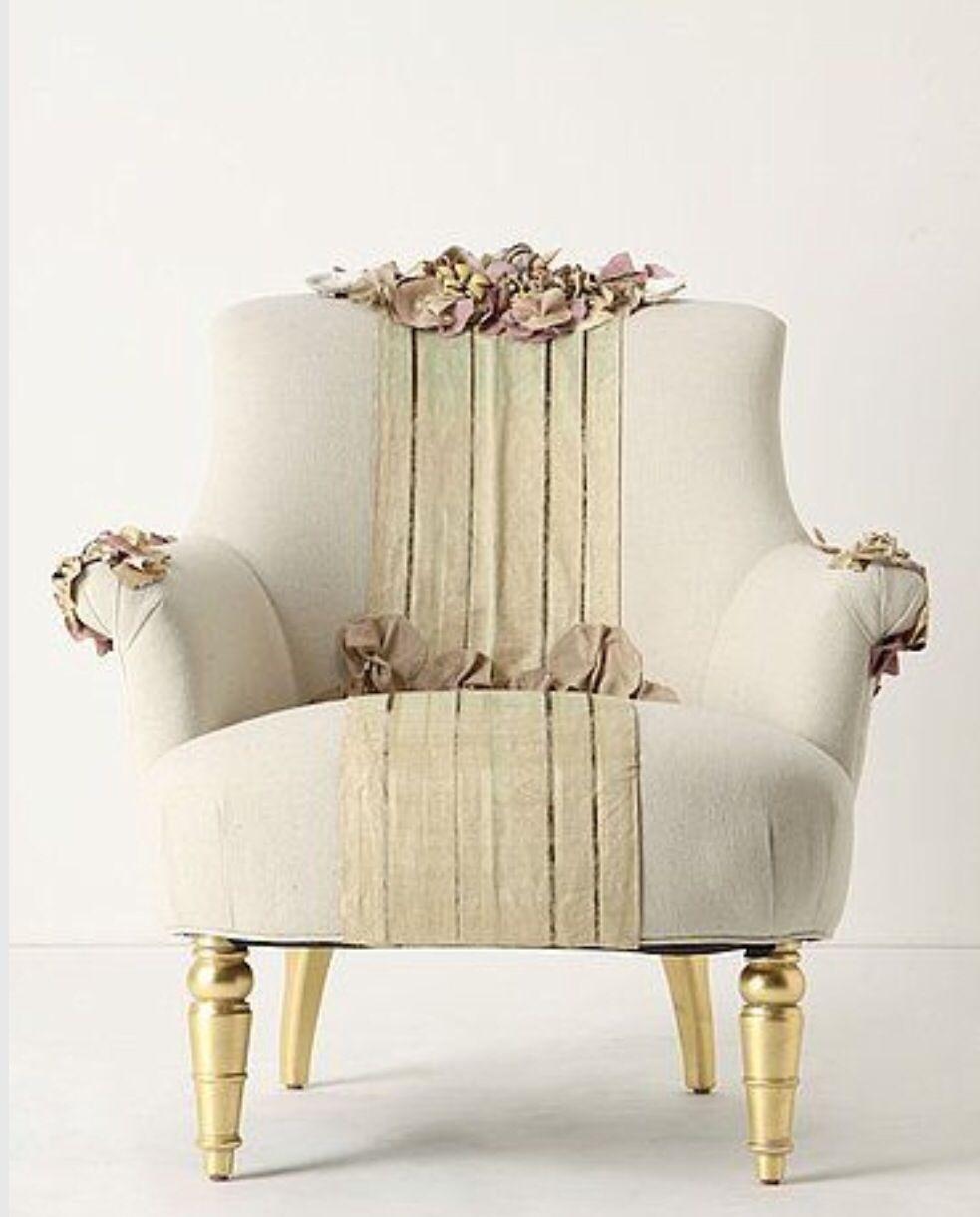 Tapiz flores sillones y sillas bellamente tapizados muebles muebles vintage y muebles sala - Tapices para sofas ...