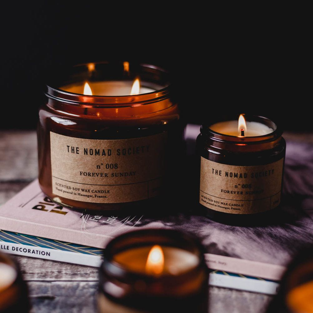 The Nomad Society - Forever Sunday Scented Candle | Osmology | Candles, Soy  wax scented candles, Scented candles