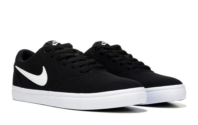 Women's Nike SB Check Solar Canvas Skate Shoe | Gifts! in