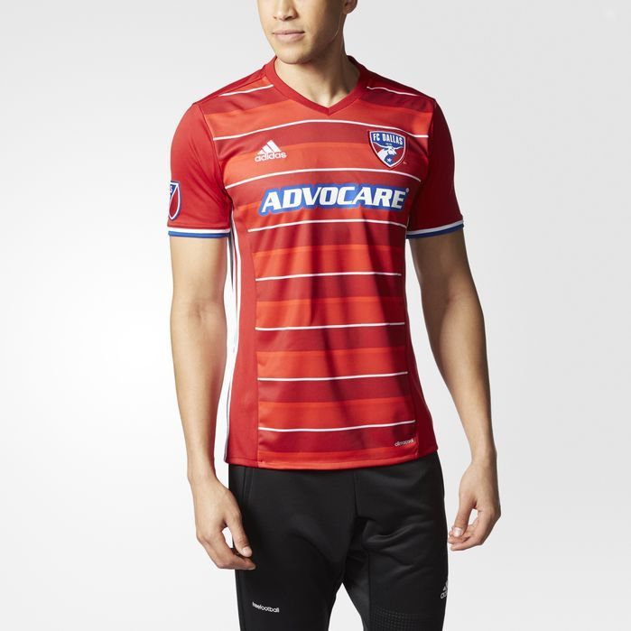 0b64bd1f9 adidas FC Dallas Home Replica Jersey - Mens Soccer Jerseys ...