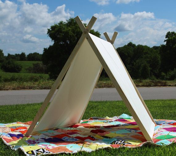 Made to order A-Frame tent with machine-washable canvas fabric. Perfect hideout : tent canvas material - memphite.com