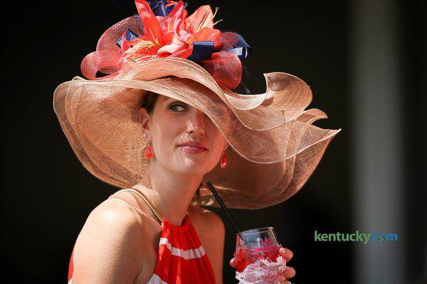 Stunning 140th Kentucky Derby Hat at Churchill Downs