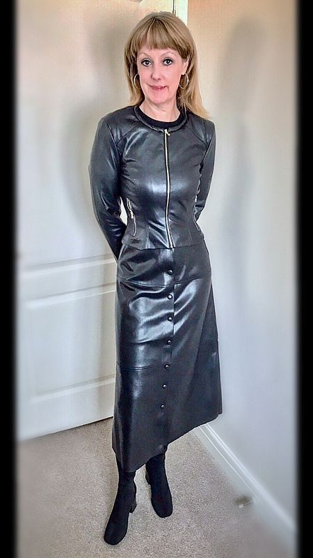 c7adae5d0c Untitled | Olivia Long Leather Skirt, Leather Dresses, Leather Pants, Leather  Skirts,