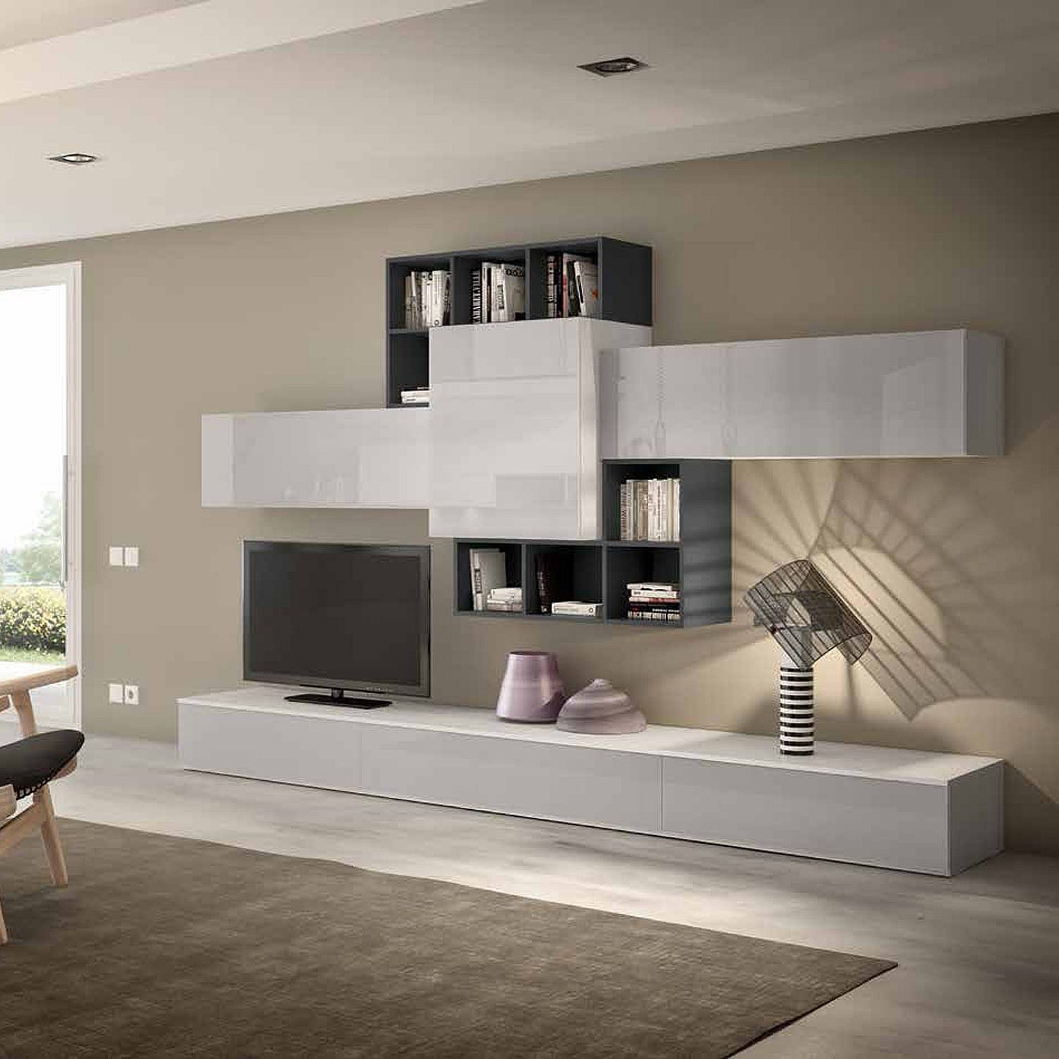 Contemporary modern TV media unit Ressi by Favero in 2019 | home ...