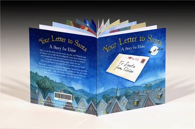 This letter to santa book is a magical christmas story and can be this letter to santa book is a magical christmas story and can be personalised with a spiritdancerdesigns Gallery