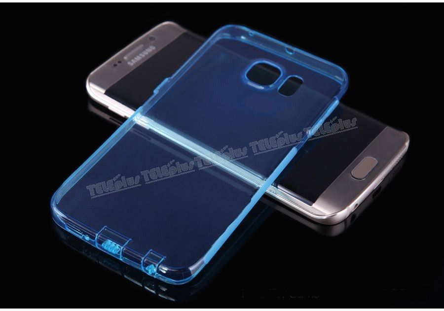 Samsung Galaxy S6 Edge Silikon Kılıf Mavi -  - Price : TL13.90. Buy now at http://www.teleplus.com.tr/index.php/samsung-galaxy-s6-edge-silikon-kilif-mavi.html