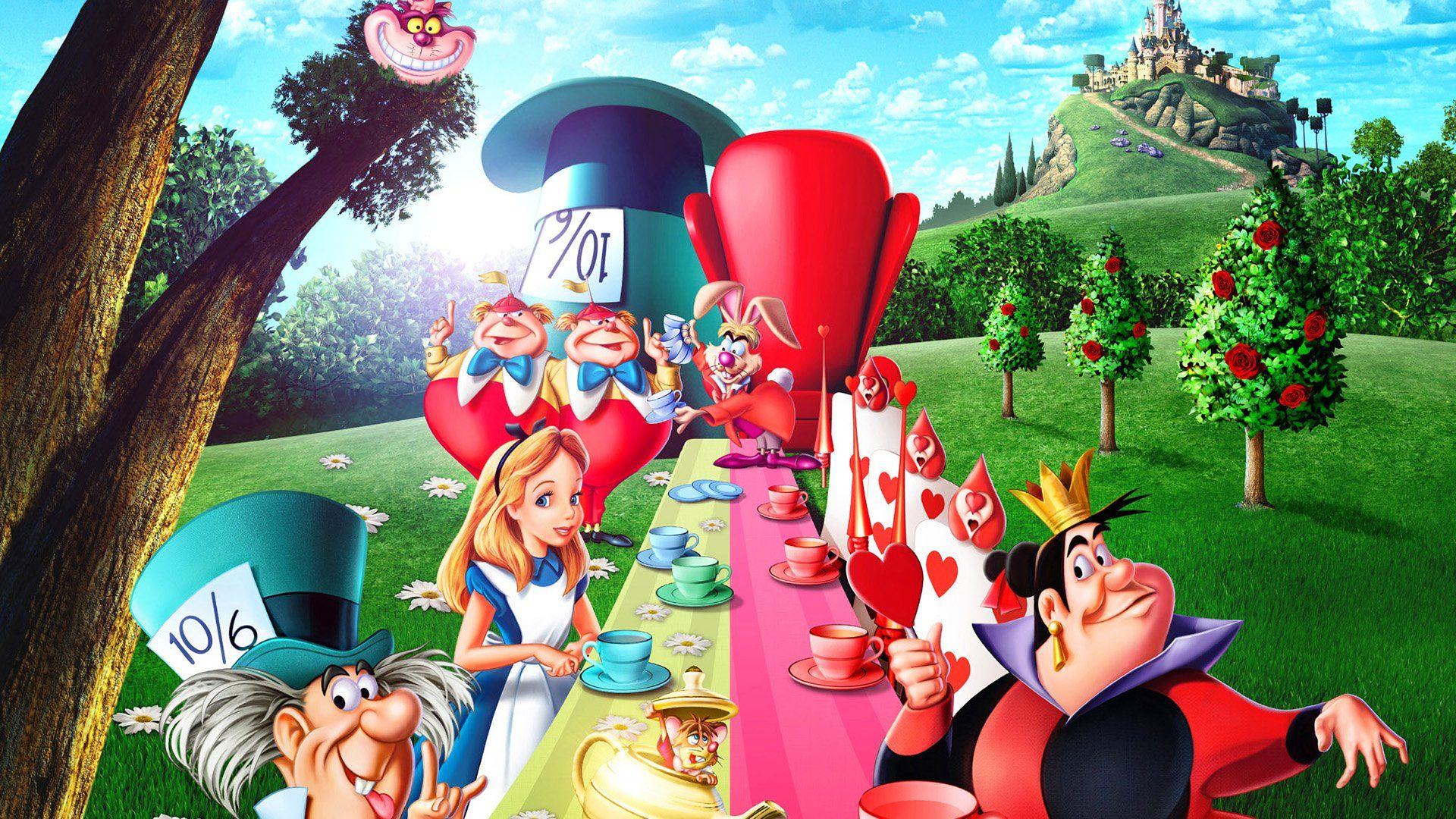 The Red Queen Alice In Wonderland HD desktop wallpaper