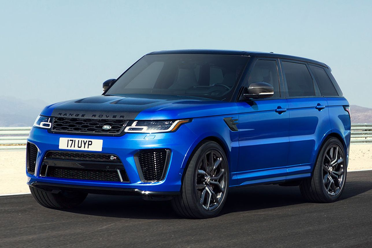 2019 Range Rover Sport SVR Range rover sport, Range