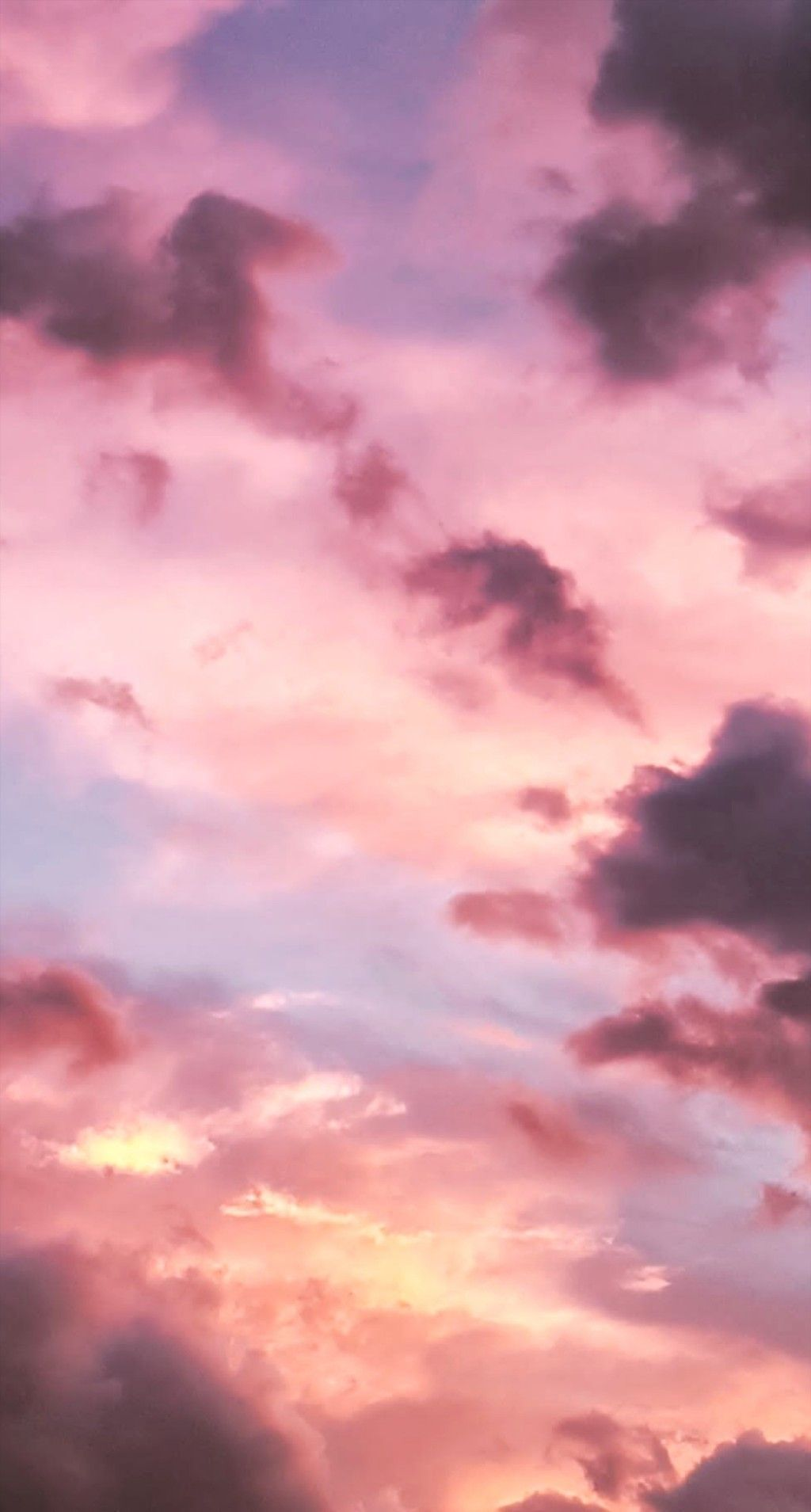 Pink Sky Wallpaper Pemandangan Pemandangan Abstrak Gambar Menakjubkan