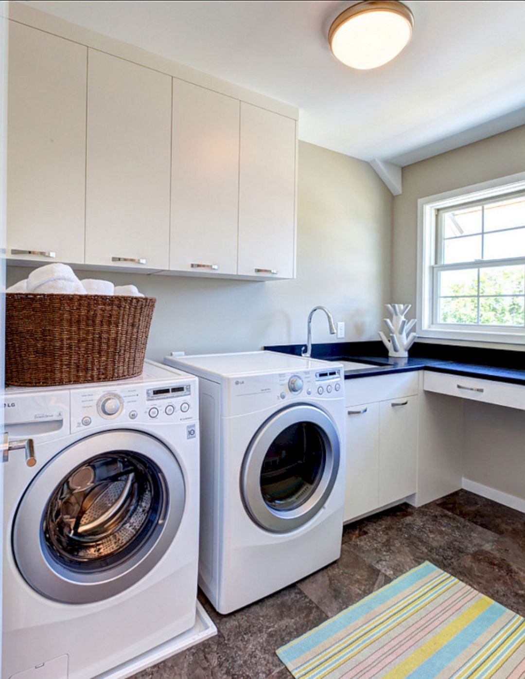 15 modern laundry room decoration for small space ideas on extraordinary small laundry room design and decorating ideas modest laundry space id=38794