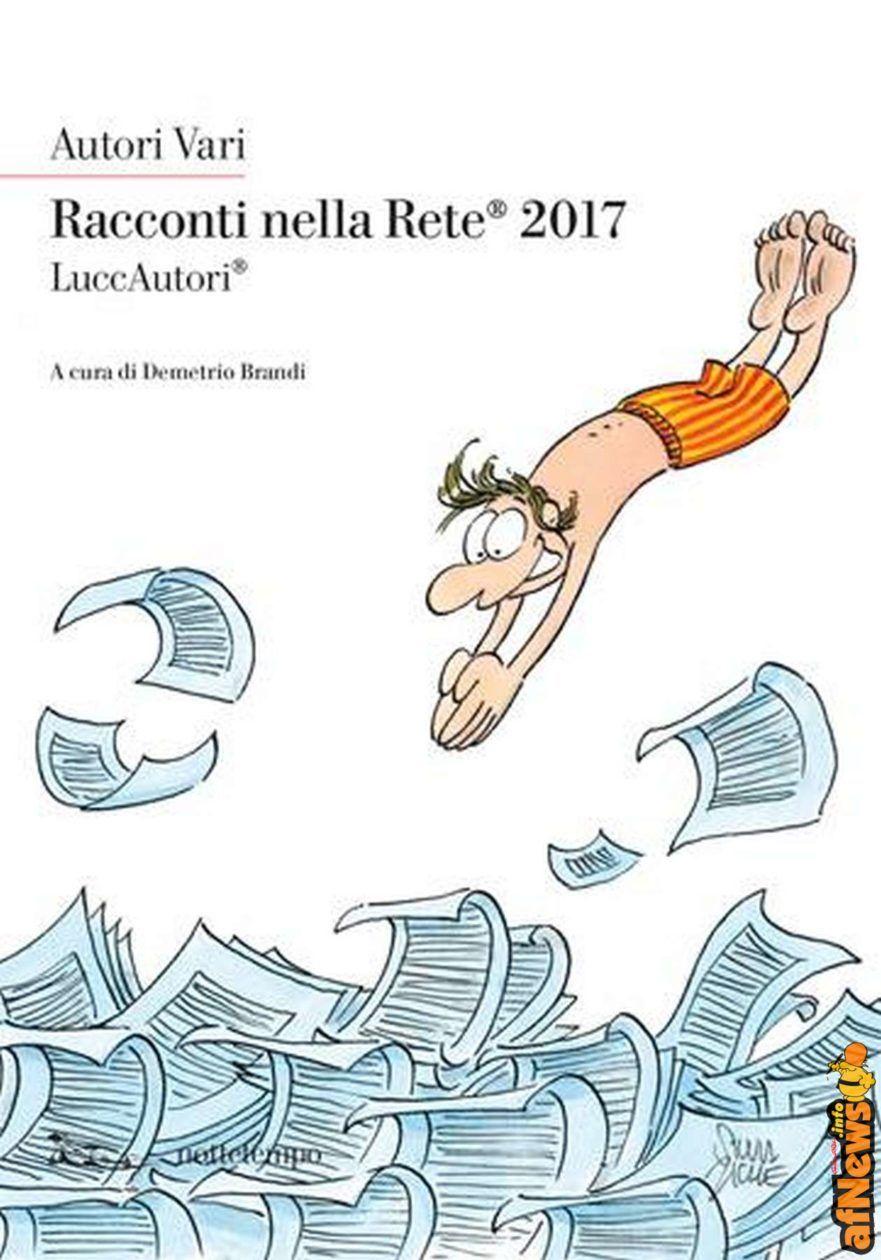 Silvia Ziche firma la copertina di Racconti nella Rete 2017 - http://www.afnews.info/wordpress/2017/01/26/silvia-ziche-firma-la-copertina-di-raconti-nella-rete-2017/