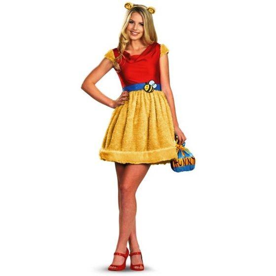 cb3abc52a938 Sassy Winnie the Pooh Womens Costume - Adult Costumes - Winnie the Pooh  Costumes