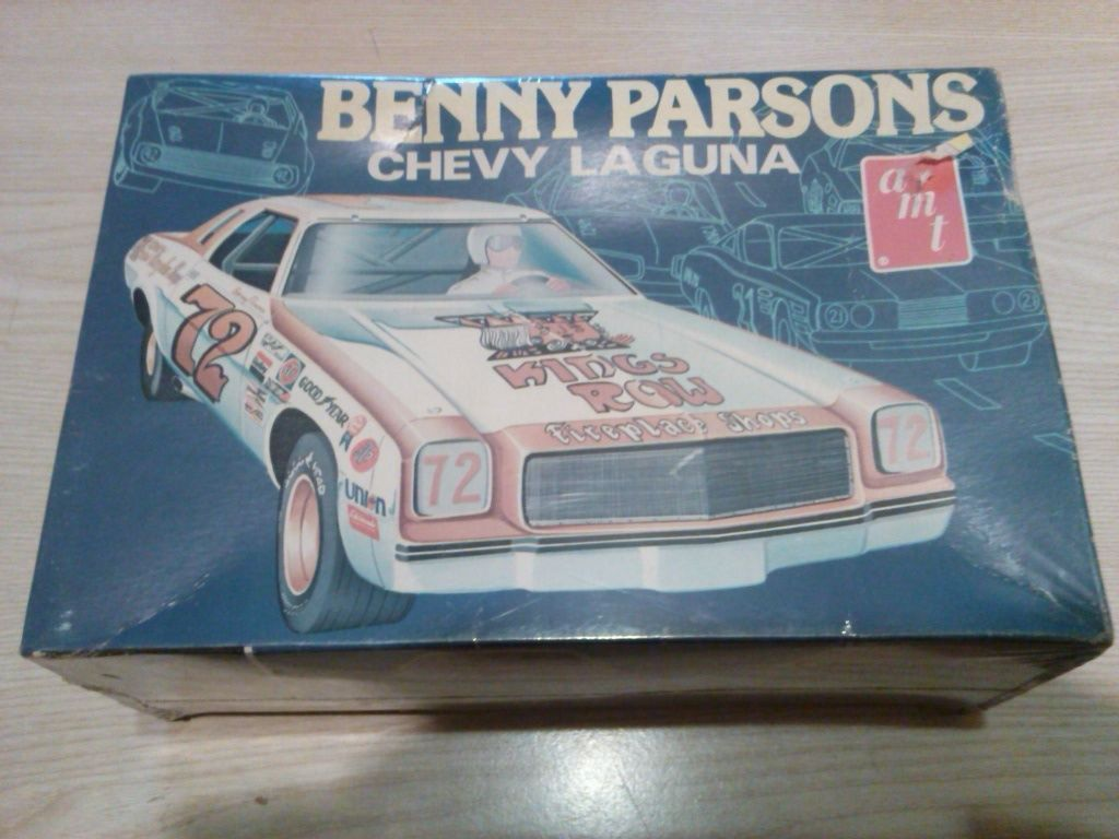 Benny Parsons Amt 1 25 Scale Nascar Plastic Model Kit T429 Ebay