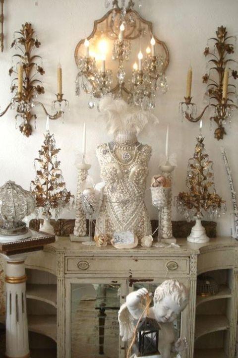 French Shabby Chic Decorating Ideas Furniture Interior Design