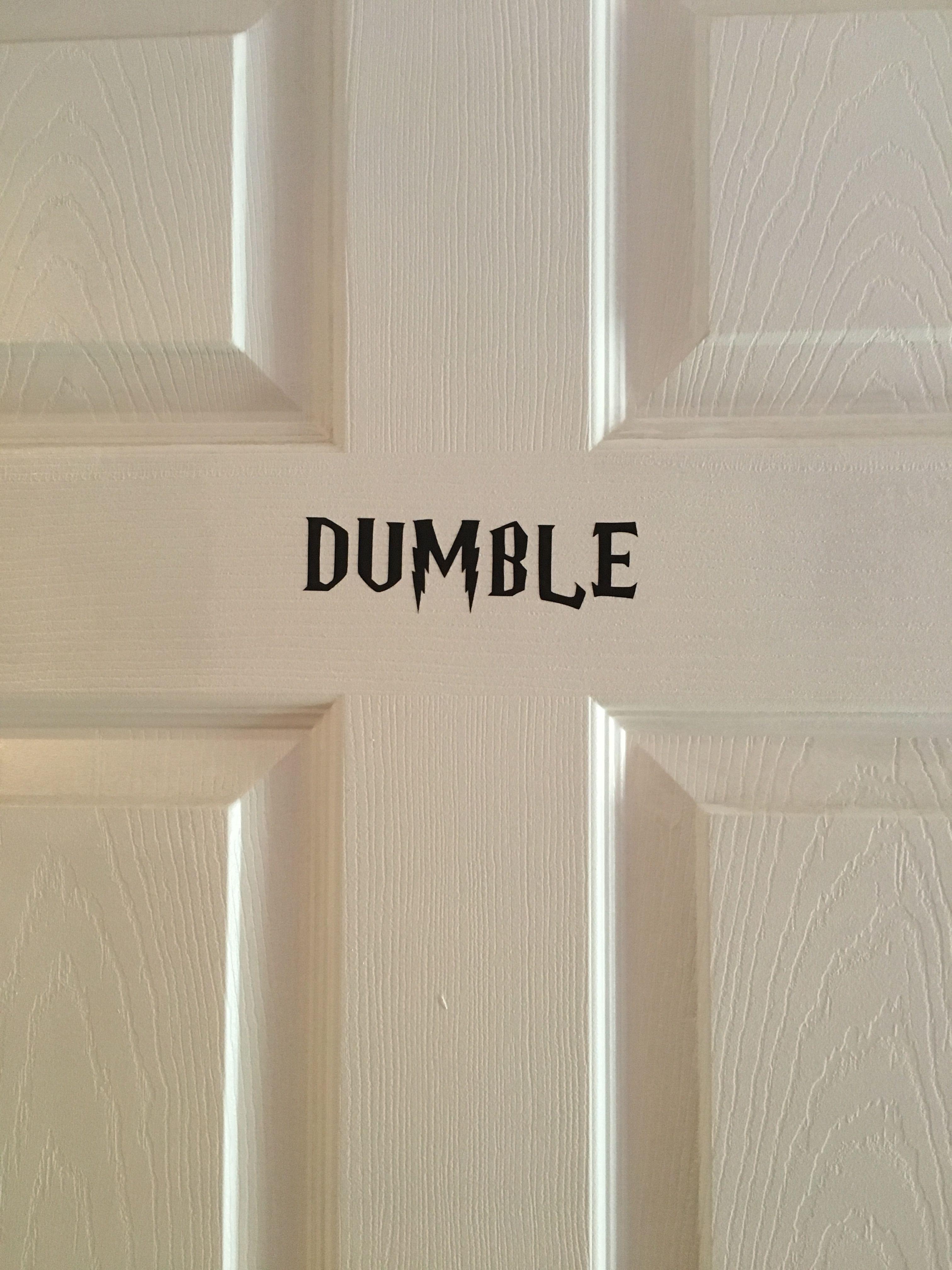 Dumble Door for a Harry Potter kid! & Dumble Door for a Harry Potter kid! | Styled For Fun | Pinterest