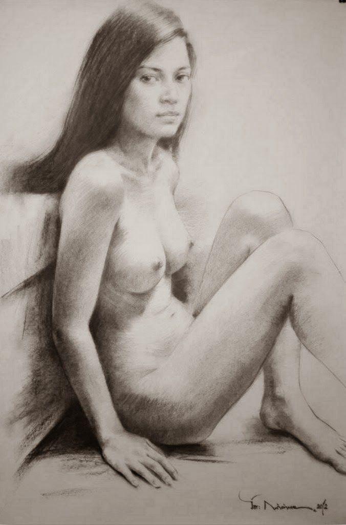 Dibujo Mujer Desnuda Color Buscar Con Google Dibujos Dibujo